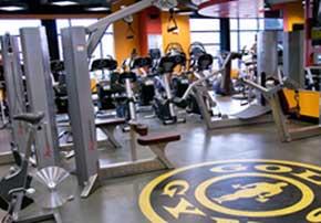 健身房运动地面