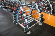 健身房力量区地面