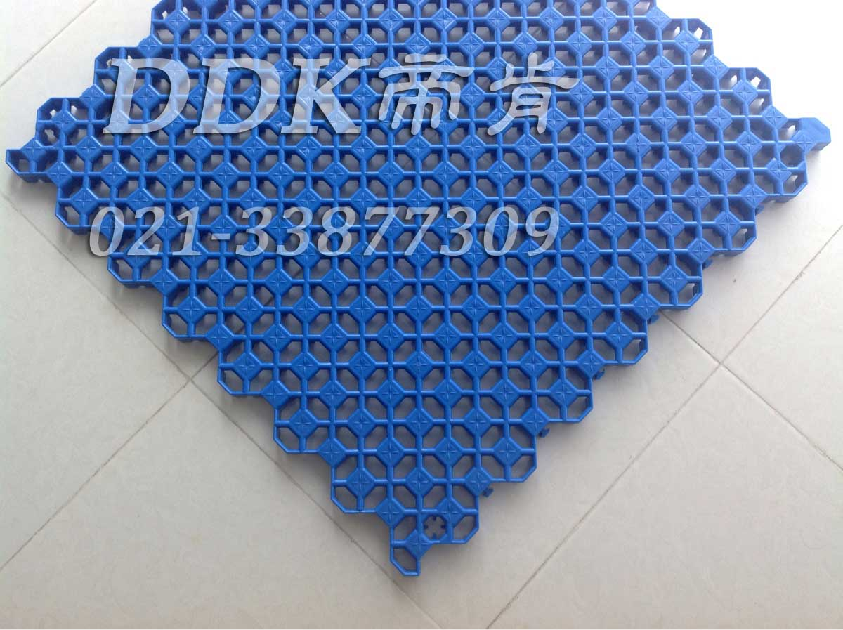 【50X50cm拼装地板】镂空疏水式模块拼装抗压地板「帝肯(DDK)_9000(BBS|博世)」—耐承重地面专用防滑拼装地板!