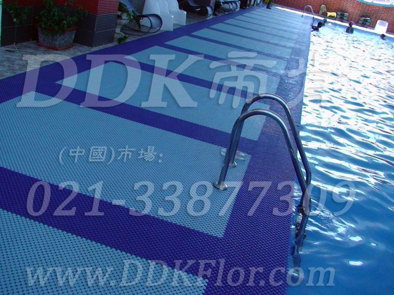 水蓝为主深蓝配色样板图片,帝肯(DDK)_8200_339效果图,泳池防滑地垫,泳池防滑地毯,游泳池防滑垫,游泳池防滑地胶,游泳池地垫