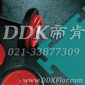 黑色+绿色_健身房地面橡胶地板
