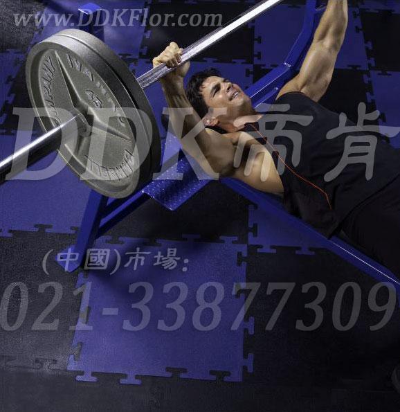 杠铃力量区_蓝色+黑色样板图片,帝肯(DDK)_4000(JP|劲豪)效果图,健身房地毯,健身房地板胶,健身房地板,健身房地垫,健身房地胶,健身房橡胶地板,健身房防震地垫,自由力量区地胶