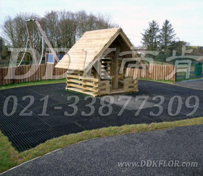 黑色_游乐区地面样板图片,帝肯(DDK)_400_222效果图,草坪保护垫