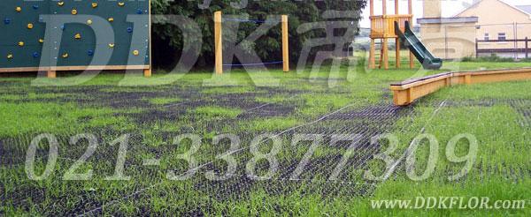 儿童室外游戏区地面保护材料_黑色