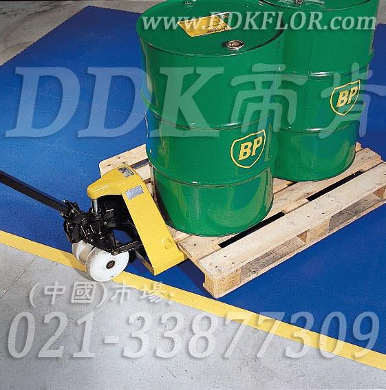 蓝色+黄边_拖轮装载搬运地面保护材料