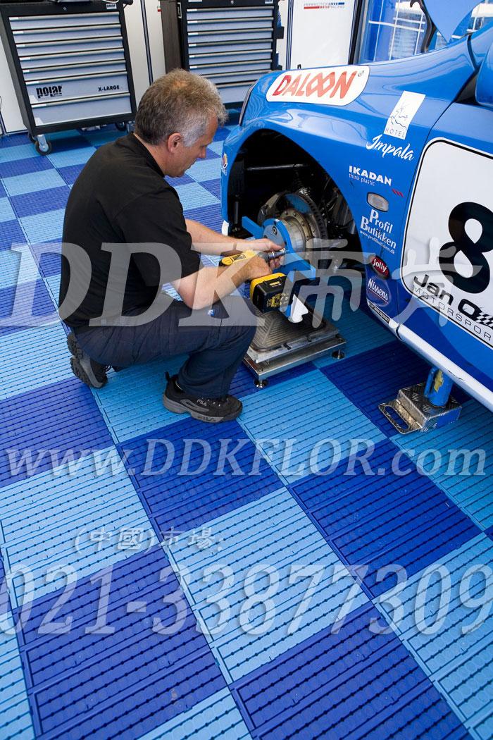 深蓝+浅蓝(5)_雪佛兰汽车维修车间地板