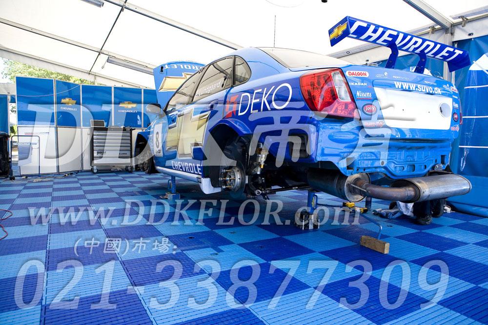 深蓝+浅蓝(6)_雪佛兰汽车维修车间地板
