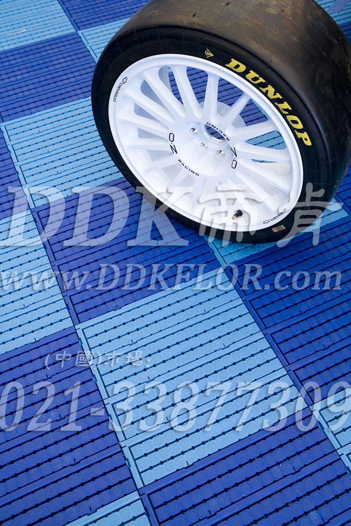 深蓝+浅蓝(8)_雪佛兰汽车维修车间地板