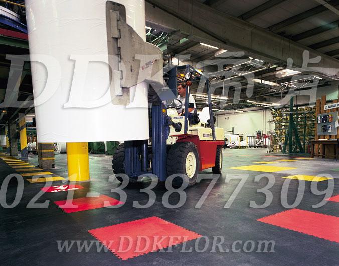 【工业拼装地板】工业厂房地面用片材拼接型车间地板有什么优势?
