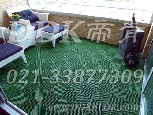 绿色地板铺设_室外露台地板用材料