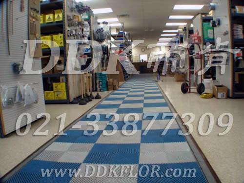 蓝色+灰白色(2)_组合安装_车间安全通道地面防滑材料
