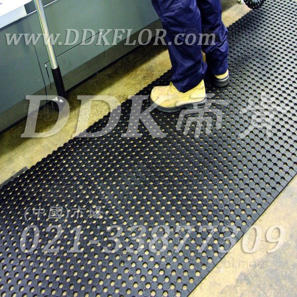 工厂用黑色安全地毯卷材(5)_工业车间地面防滑铺设安全材料
