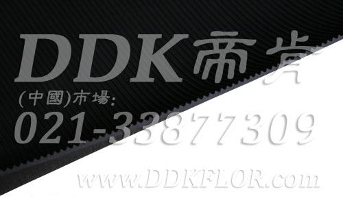 黑色耐磨型条纹防滑毯(1)样板图片,帝肯(DDK)_S450(Groove|加州)效果图,竖直条纹,坑条防滑垫,地胶,地板胶,地面保护地毯,地面保护垫