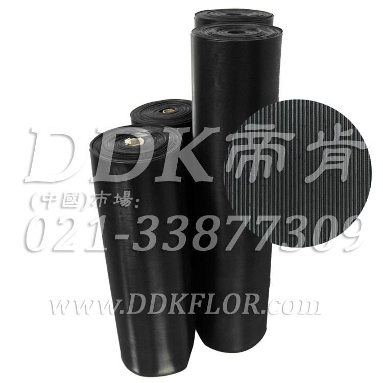 黑色耐磨型条纹防滑毯(4)样板图片,帝肯(DDK)_S450(Groove|加州)效果图,竖直条纹,坑条防滑垫,地胶,地板胶,地面保护地毯,地面保护垫