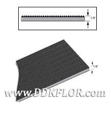 黑色耐磨型条纹防滑毯(7)样板图片,帝肯(DDK)_S450(Groove|加州)效果图,竖直条纹,坑条防滑垫,地胶,地板胶,地面保护地毯,地面保护垫