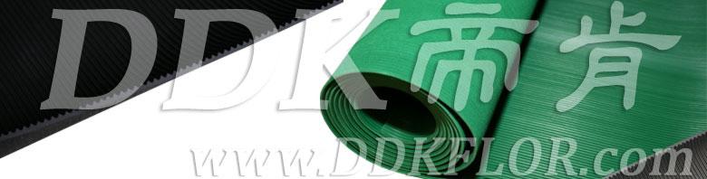 黑色耐磨型条纹防滑毯(8)样板图片,帝肯(DDK)_S450(Groove|加州)效果图,竖直条纹,坑条防滑垫,地胶,地板胶,地面保护地毯,地面保护垫