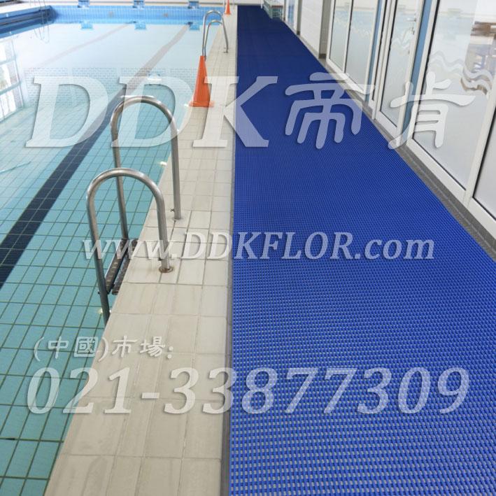 增强舒适站立脚感,1.2米宽游泳池塑料网格防滑垫/游泳池塑料网格防滑垫推荐