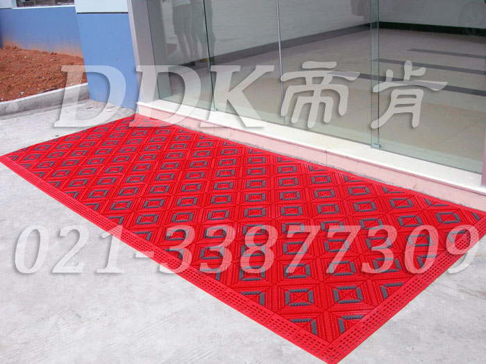 帝肯(DDK)_900_9000(LOTO|力拓)入口防滑垫,三合一门口毯,三合一门垫,刮泥门垫,塑料门垫,大门脚垫,塑胶门垫,