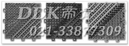 【pvc毛刷地垫】提供15*15cm模块组合型pvc毛刷地垫_2.5mm厚
