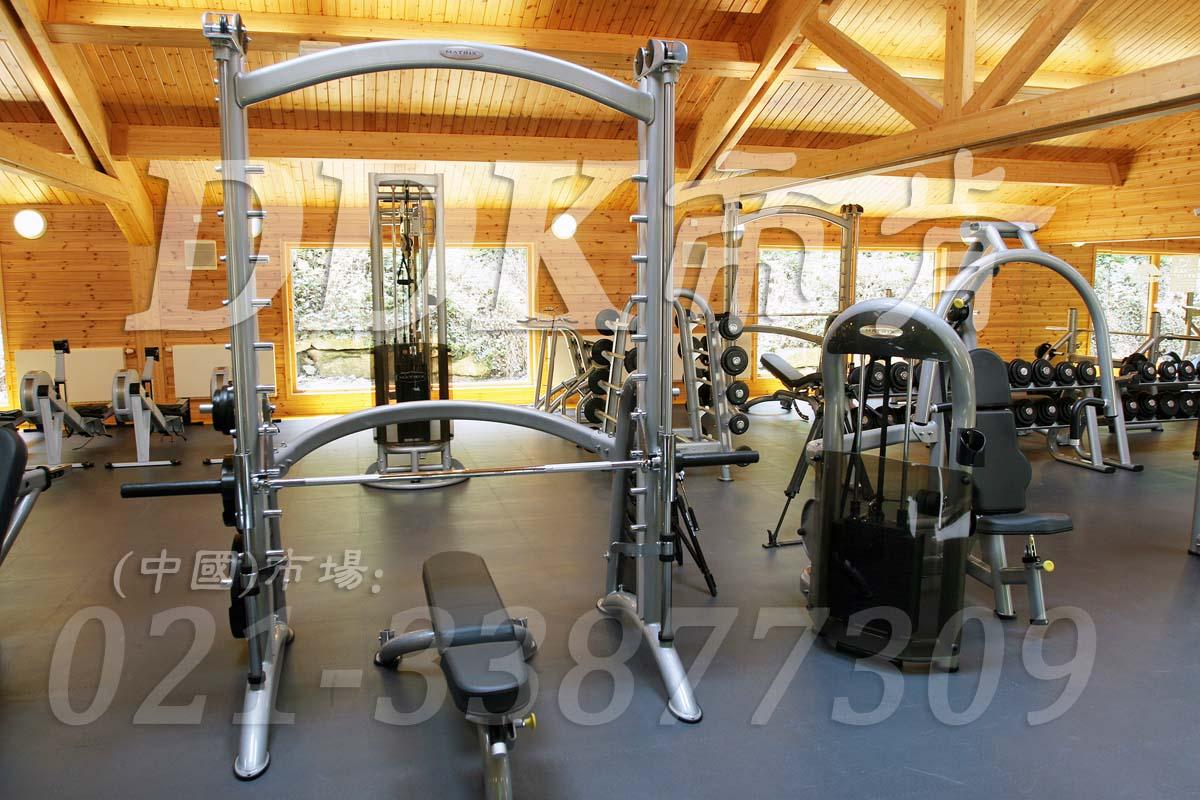 室内健身房运动地面材料(7)_灰色