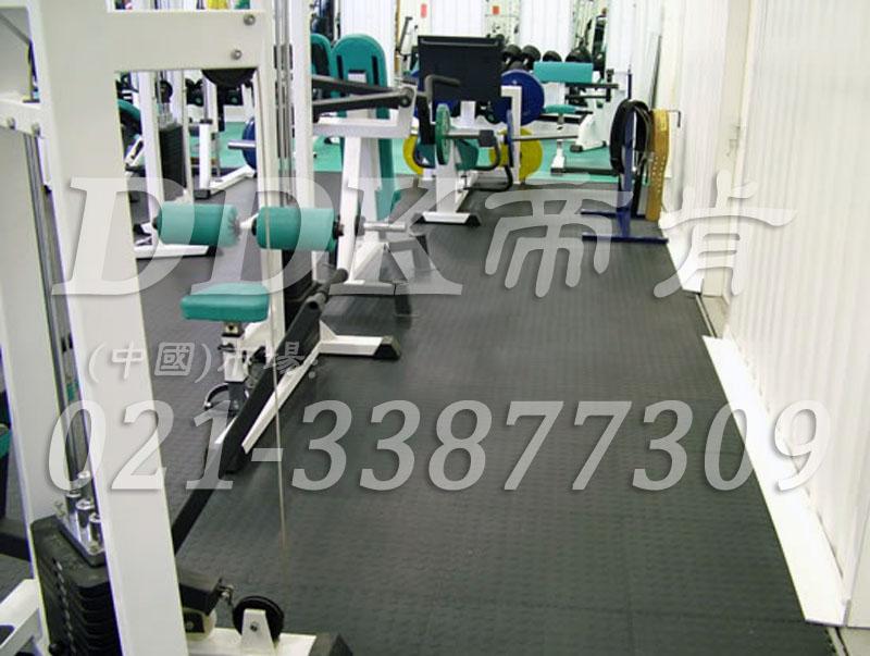 室内健身房运动地面材料(29)_灰色