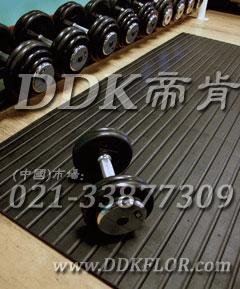 双面纹路使用健身房防震垫,产品高度10毫米至小于17mm可选定制。