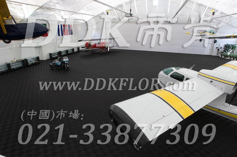 私人飞机停机坪做法(3)_黑灰色私人飞机库停机地面地板