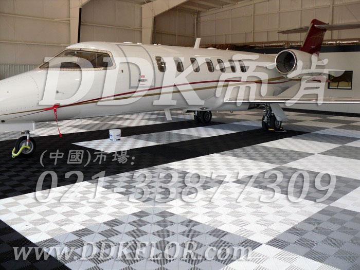 私人飞机停机坪做法(16)_私人飞机库停机地面_浅灰加深灰色加黑色地板