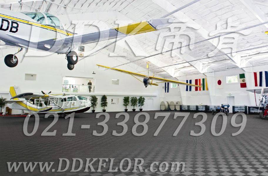 私人飞机停机坪做法(18)_私人飞机库停机地面_深灰色地板
