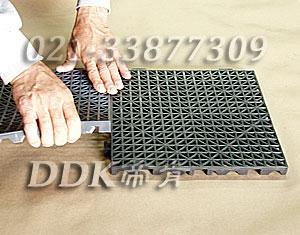 灰色_加厚镂空防滑垫材30*30cm