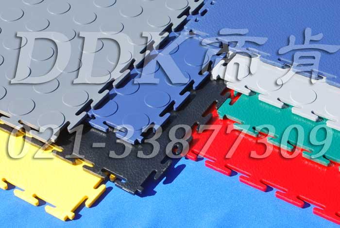 【pvc互扣型锁扣防滑地垫】塑胶pvc材质互锁式防滑地垫