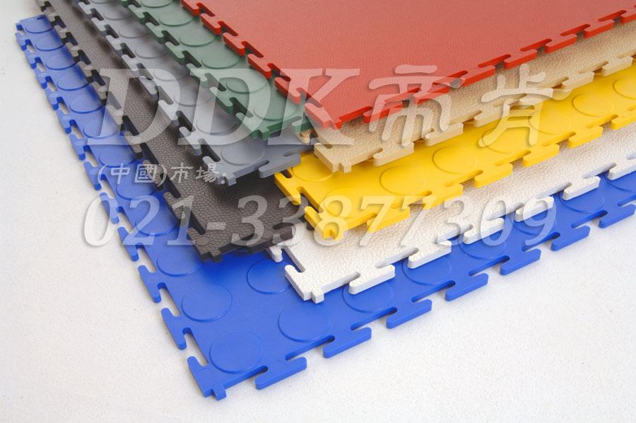 拼装型地贴式彩色塑化工业厂房地坪/仓库地坪,