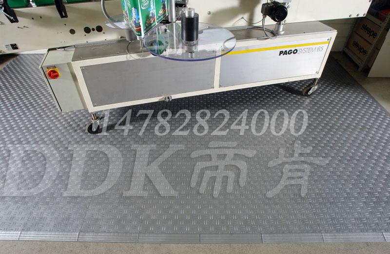 【机床防滑砖】耐油防滑的机床用硬质塑化拼块式防滑砖