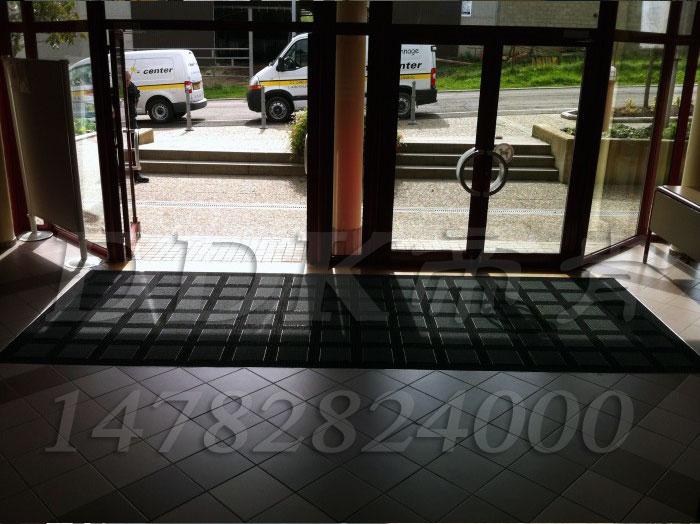 办公楼门厅脚垫 宾馆门厅刮泥地垫样板图片 效果图 帝肯