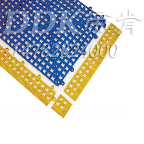 蓝色带黄边帝肯(DDK)_8800_798(厨房用防滑垫材料)