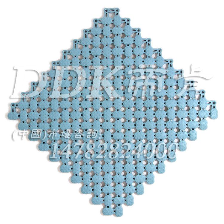 【游泳池地毯】「帝肯(DDK)_8200_339」拼块连锁式游泳池防滑地毯