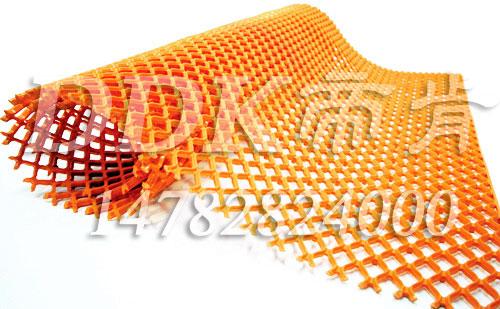 【塑料网格地毯】环保型橙色塑料网格地毯样板图片,帝肯(DDK)_9200(Race|雷士)效果图,pvc防水地垫,pvc防滑卷材