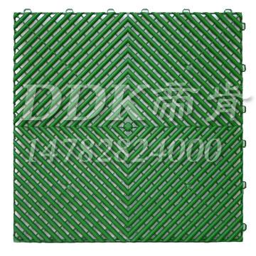 蓝色拼接帝肯(DDK)_8800_5005(塑格悬浮式拼装运动地板)