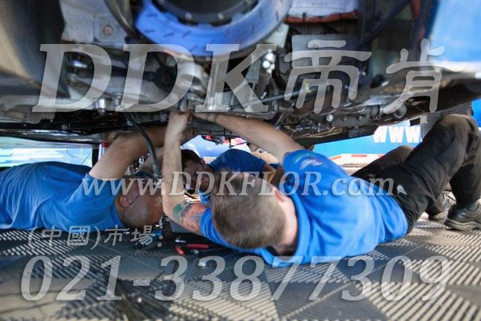 18灰色定制款维修间地面耐油防滑拼装地板