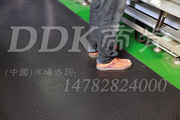 【走道通道防滑地毯】车间地坪漆防滑用钢板纹防滑地毯