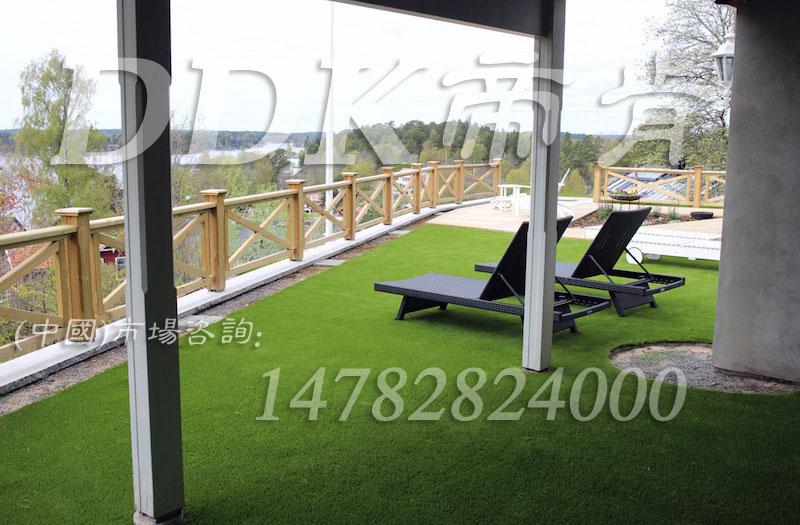 【露台放人工草坪还是橡胶地板哪个好】样板图片,帝肯(DDK)_6200(Green 歌林)效果图,露台草坪,人造草坪,仿真草坪