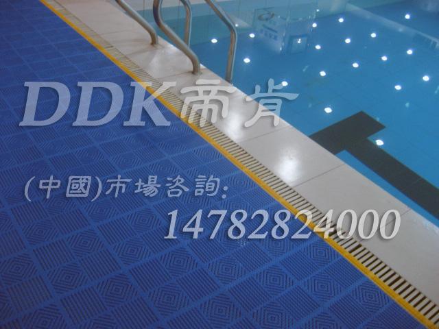 蓝色泳池防滑垫帝肯(DDK)_9025(ALJ 艾路杰)